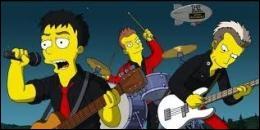 Quel groupe de rock donne un concert sur le lac de Springfield ?