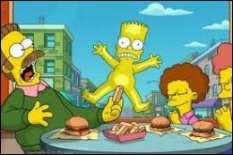 Quel défi stupide Homer lance-t-il à Bart ?