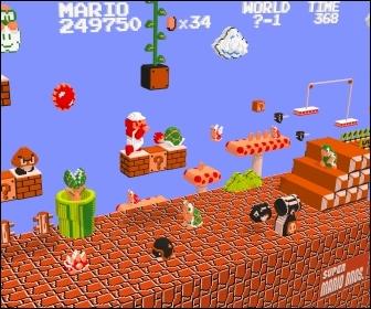 Que doit sauver Mario dans le tout premier Mario ?