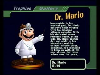 Dans Docteur Mario, que doit-il éliminer dans un bocal ?