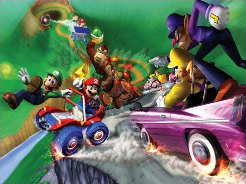 Y a-t-il des raccourcis dans Mario Kart Double Dash sur Game Cube ?