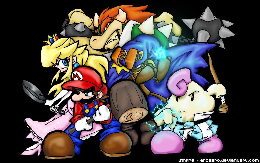Sur quelle console le premier RPG a-t-il été crée avec Mario ?
