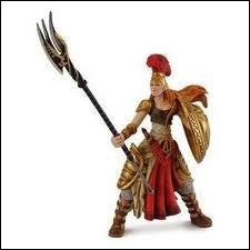 La déesse grecque de la guerre était la protectrice des héros. Orné de la tête de la Gorgone, son bouclier pétrifiait quiconque la regardait :