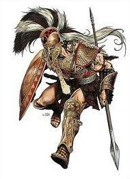 Mythologie. Les divinités guerrières
