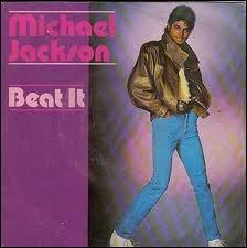 Ici son cuir est marron mais dans le clip de Beat-it, de quelle couleur est-il ?