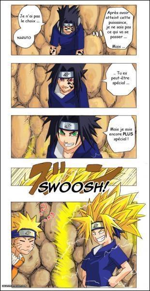 Quel est le nom de l'équipe de Sasuke ?