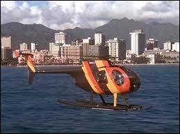Dans quel générique peut-on voir cet hélicoptère ?