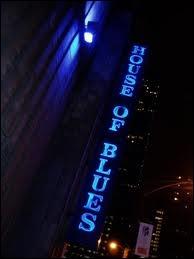 Qu'est-ce qui est faux sur le «House of Blues Chicago» ?