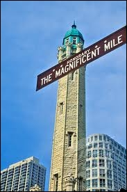 Qu'est-ce qui est faux sur le «Magnificent Mile» ?