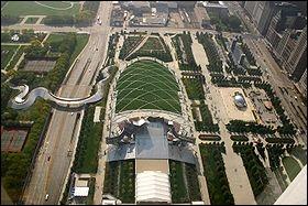 Qu'est-ce qui est faux sur le «Millennium Park» ?