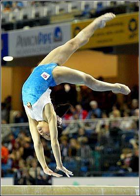 Le diminutif de gymnaste est :