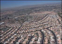 Dans quel comté est située Las Vegas ?