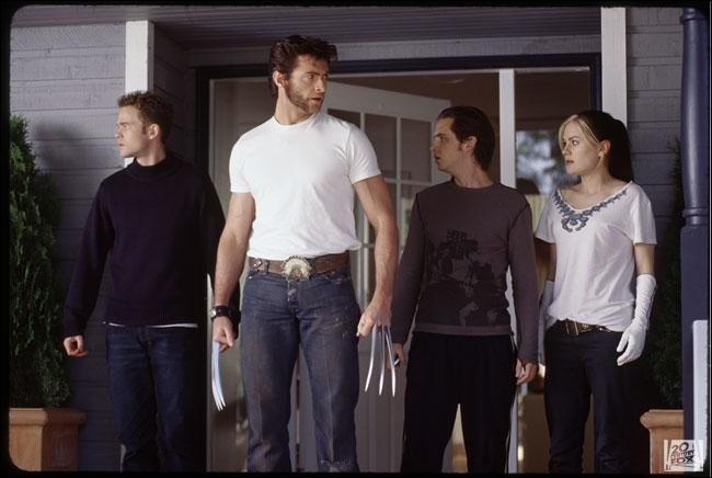 Où se trouvent-ils dans ce passage de  X-Men 2  ?