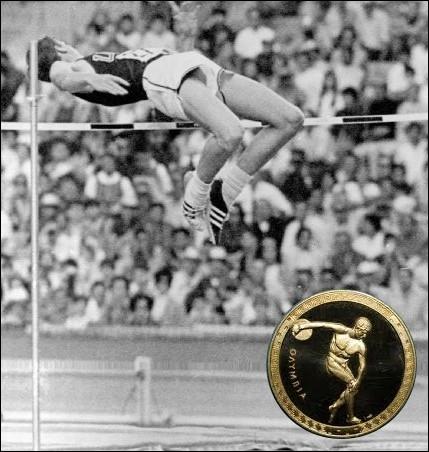 Quel est cet athète, qui à Mexico popularise la méthode de saut en rouleau dorsal et remporte le concours avec un saut de 2 mètres 24 ?