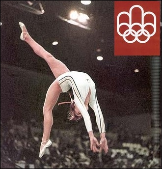 Quel âge avait la gymnase roumaine Nadia Comaneci lorsqu'elle remporte 5 médailles dont trois d'or, lors des jeux de Montréal en 1976 ?