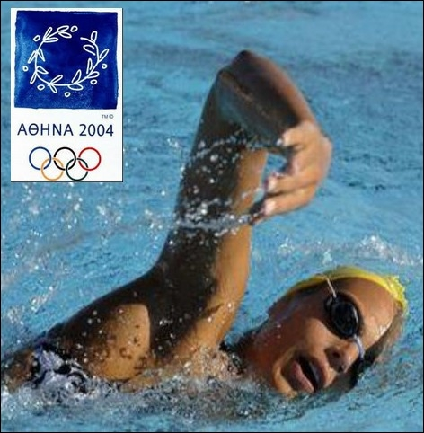 Dans quelle épreuve de natation Laure Manaudou décroche-t-elle le titre olympique, lors des jeux d'Athènes en 2004 ?