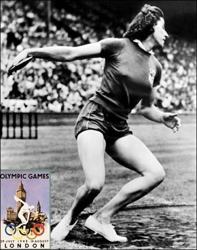 En 1948 à Londres, la française Michèle Ostermeyer illumine les jeux en remportant 2 médailles d'or et une de bronze. Quelle profession artistique exerçait-elle ?