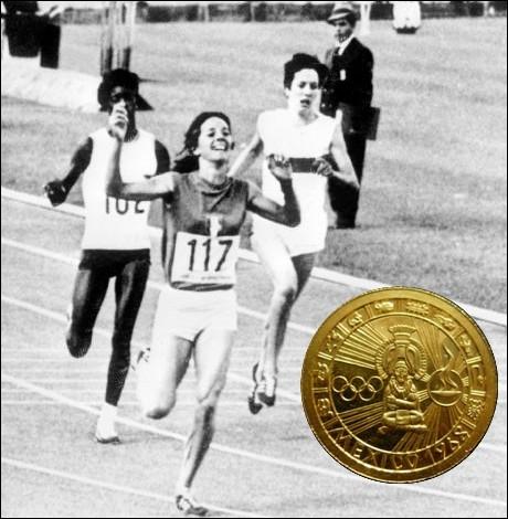 Dans quelle épreuve d'athlétisme, la française Colette Besson remporte-t-elle le titre olympique lors ce ces mêmes jeux de Mexico ?