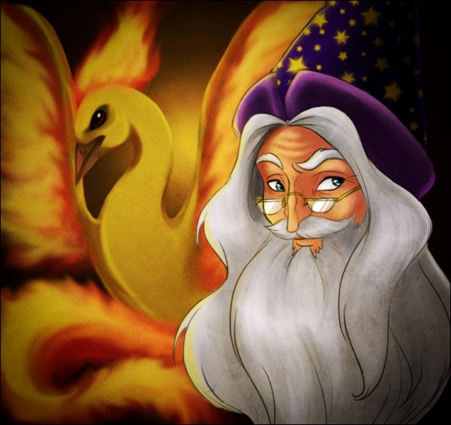 Qui interprète Albus Dumbledore jusqu'au tome 2 ?