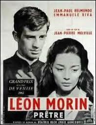 Le film  Léon Morin prêtre  (avec Jean-Paul Belmondo) est tiré d'un livre dont l'auteur belge s'appelle :
