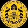 Quelles sont les couleurs du drapeau de la ville de San Diego ?