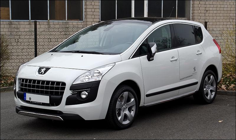 Quelle est cette Peugeot ?
