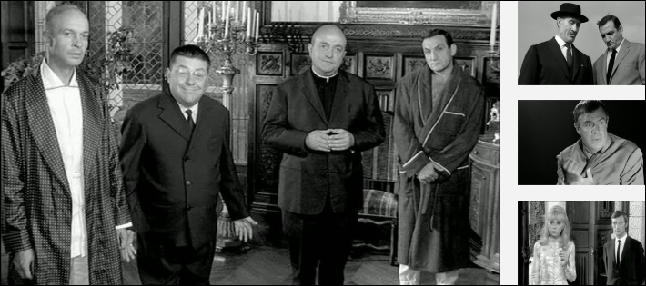 Quelle femme jouait dans le film  Les barbouzes  de Georges Lautner ?