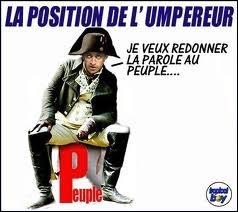Il a été surnommé Napoléon le Petit... Naboléon... Badinguet !