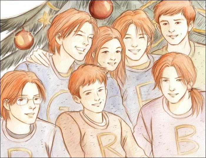 Qui est l'aîné des enfants Weasley ?
