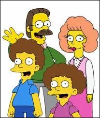 Quel est le nom de famille des voisins des Simpson ?