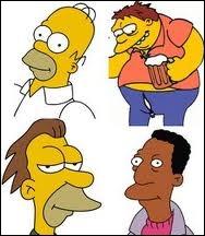 Comment s'appellent les copains de Homer ?