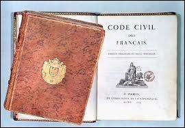 Qui a fait rédiger le Code civil ?