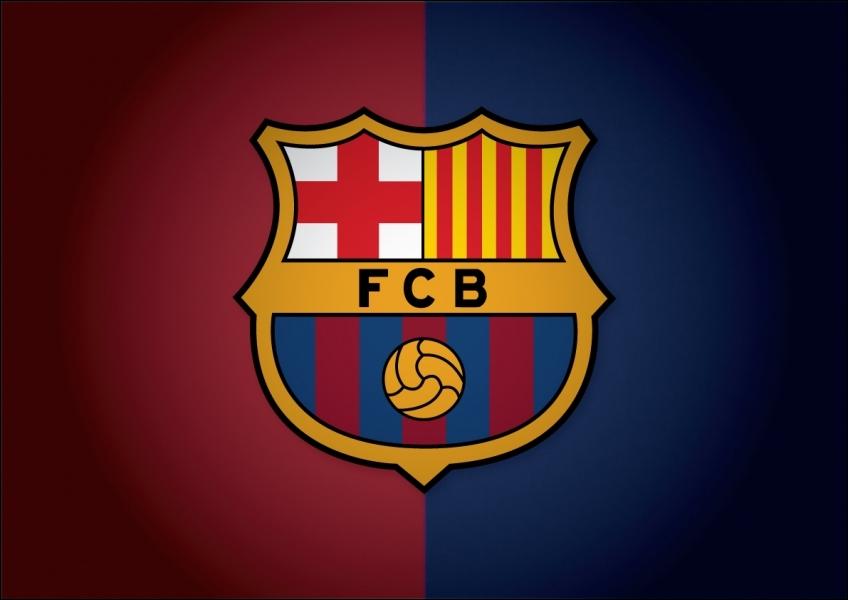 Que représentent les couleurs  jaune  et  rouge  figurant sur le logo du  Barcelone  ?