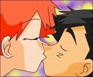 Qui sont les personnages qui s'embrassent ?