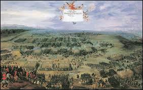 A quelle grande guerre européenne la France participe-t-elle pour contrecarrer l'hégémonie de l'Espagne des Habsbourg sur l'Europe ?
