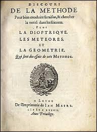 """A quel philosophe doit-on la citation """"Je pense donc je suis"""", extraite du """"Discours de la Méthode"""" (1637) ?"""