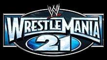 Qui a affronté Undertaker à Wrestlemania XXI (21) ?