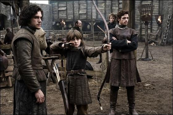 Quel loup appartient à un des enfants Stark ?
