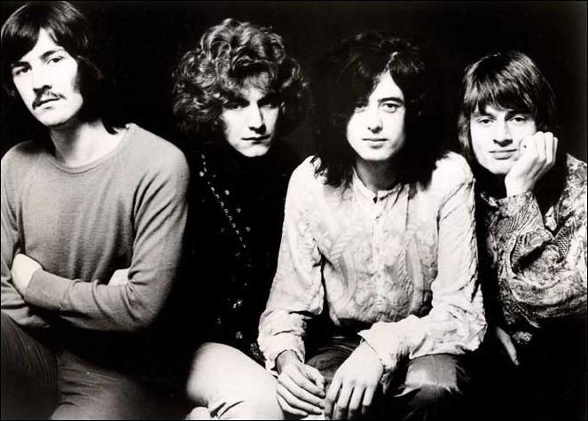 Groupe de rock britannique formé en 1968 par Jimmy Page, comptant parmi ses membres Robert Plant. Considéré comme l'un des premiers groupes de hard-rock et comme l'un des pionniers du heavy-metal.