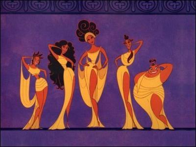 Comment se nomment les cinq Muses, qui chantent  Le Gospel Pur  ?