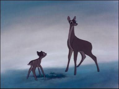 Par qui la mère du Petit Prince (Bambi) se fait-elle tuer ?