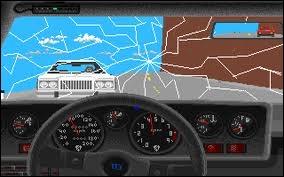 Quel est ce simulateur de conduite (dans lequel le pare-brise pouvait se casser) ?