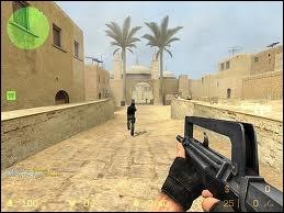 Comment s'appelle ce jeu de tir subjectif (first-person shooter) ?