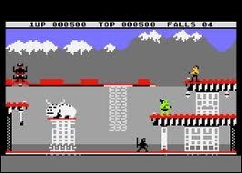 Ce jeu vidéo est un peu moins connu (aussi) mais il reste quand même culte... Quel est ce jeu vidéo des années 80 ?