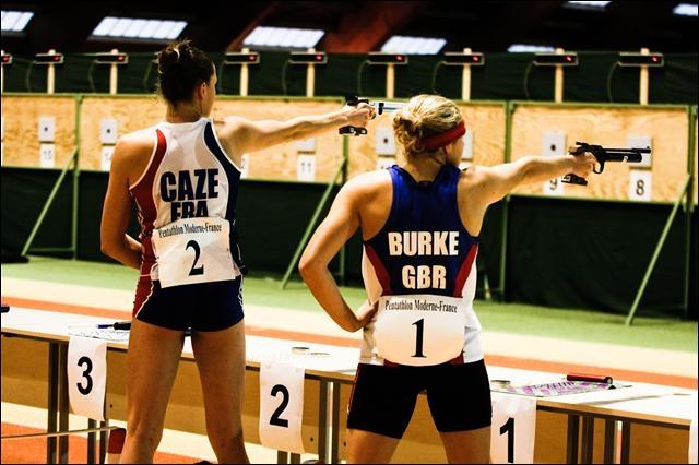 Quelle discipline athlétique est composée de pas moins de 5 épreuves (tir, escrime, natation, équitation et course à pied) ?