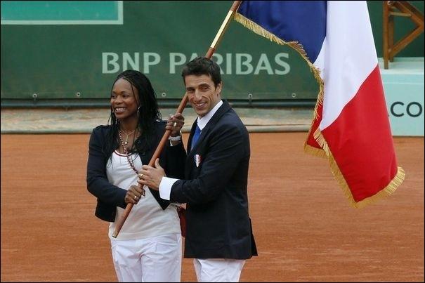 Porte drapeau de la délégation française à Londres, dans quelle discipline Laura Flessel va-t-elle concourir ?