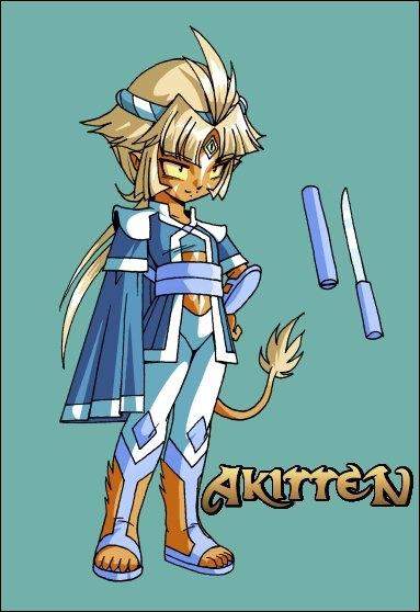 Qui a emmené Akitten à Jaguarys ?