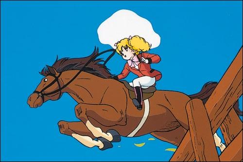 Quel est le nom du cheval de Gwendoline ?