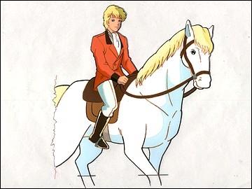 Comment s'appelle le cheval d'Arthur ?