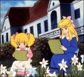 Sur cette image que font Gwendoline et Annie ?